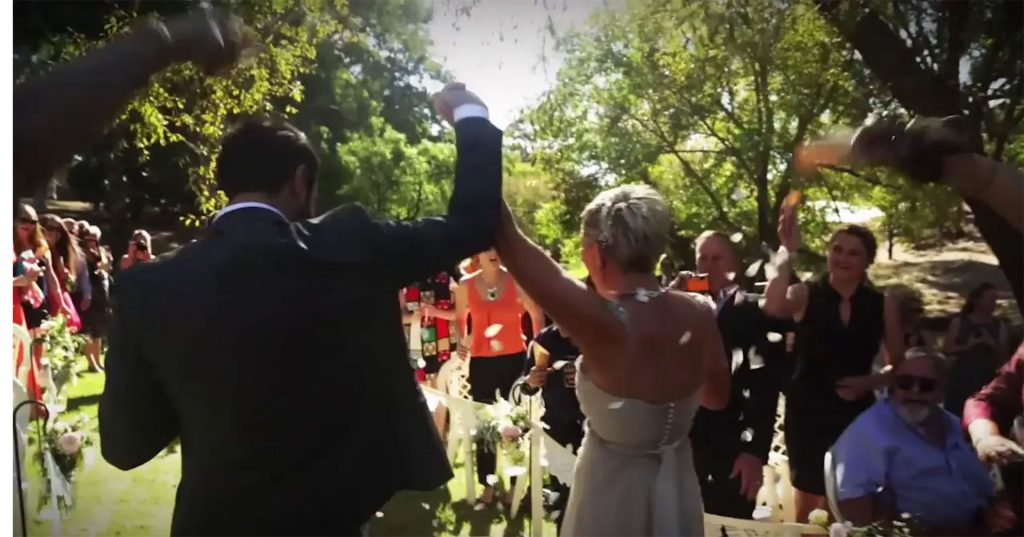 Wedding Highlight Film, Willunga, Russell's Pizza