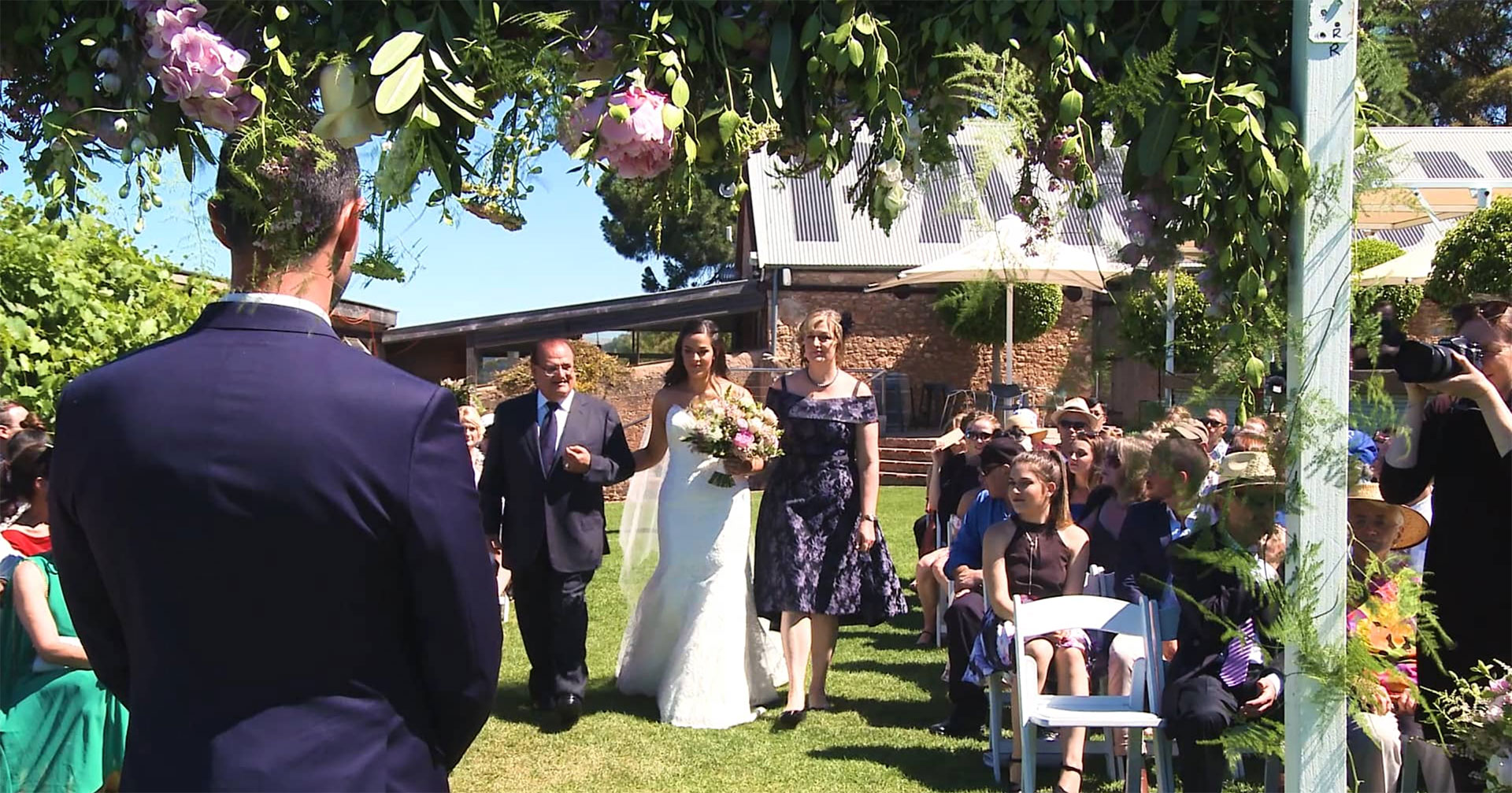 Wedding Highlight Film, Paxton Wines, McLaren Vale